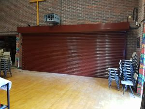 Gallery - School Hall Roller Shutter