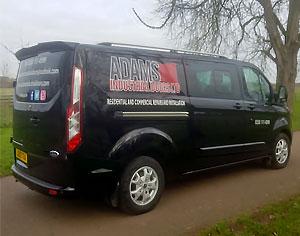 Adams Industrial Doors Ltd van photo