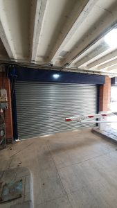 New Car park Shutter After